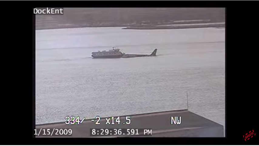 US Airways 1549 Con Edison Security Camera CCTV