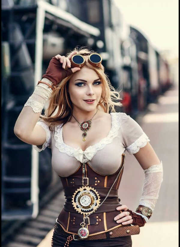 Steampunk Model: Irina Mayer