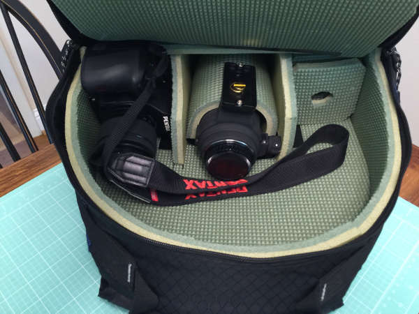 I Turned a backpack into a big-lens DSLR camera bag on the cheap