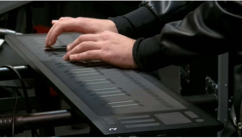 "Marco Parisi plays Jimi Hendrix's ""Little Wing"" on the Seaboard RISE at Musikmesse 2016"