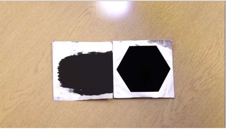 Vantablack, the Darkest Material Ever Made, Absorbs 99.965% Of Light