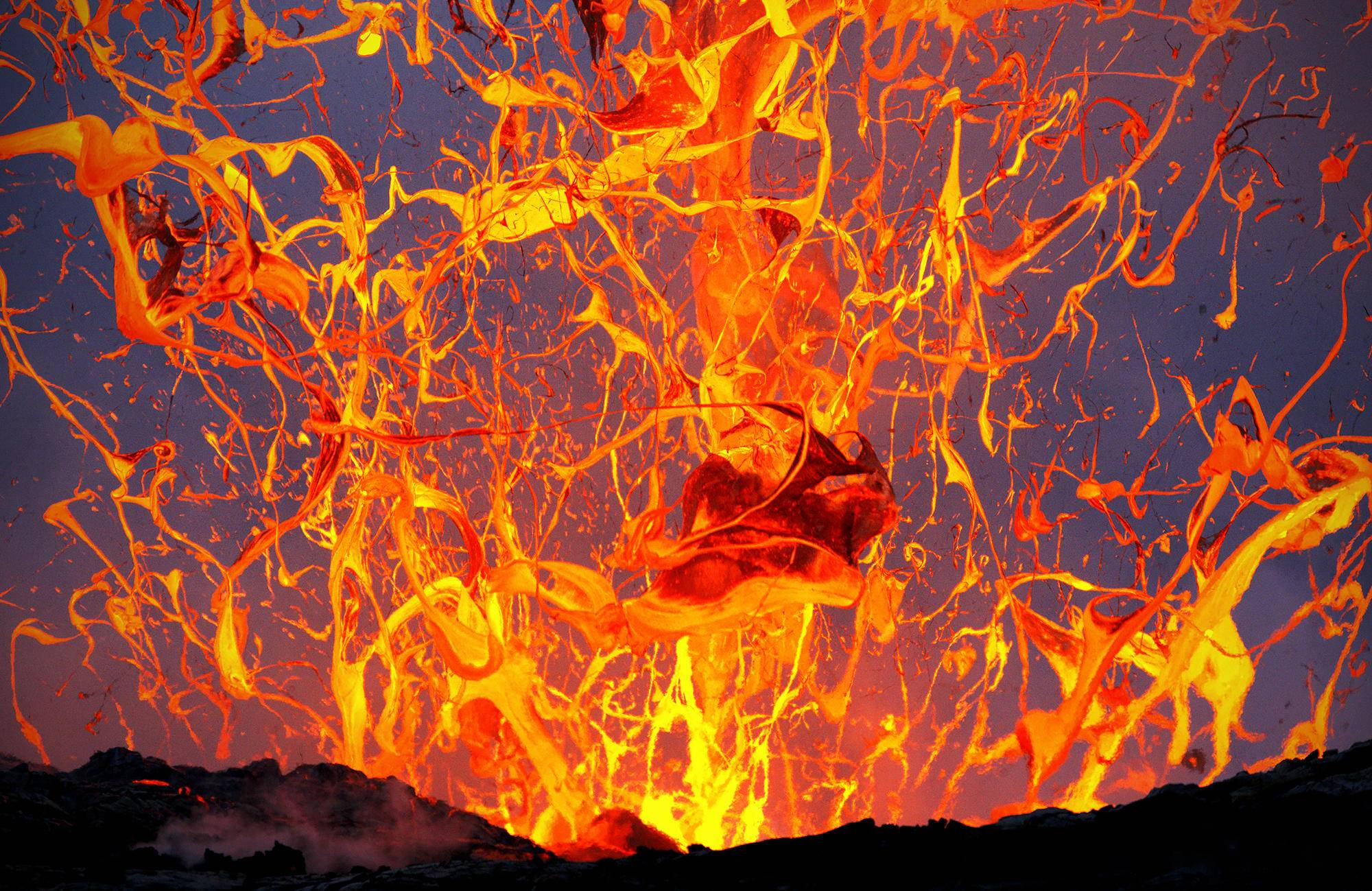 Exploding Lava Bubble
