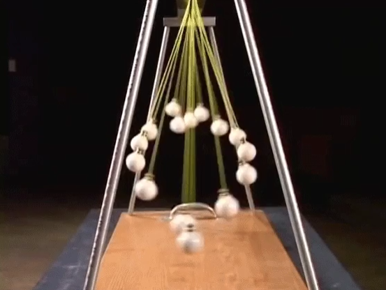 Looped Pendulum Waves