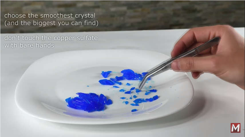 How To Make Your Own Salt Crystals - Cool Science Experiments with Home Science